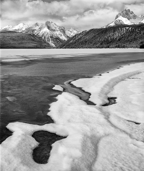 Redfish Lake, Idaho : monochrom : TIMOTHY FLOYD PHOTOGRAPHER, NATURE PHOTOGRAPHY, PHOTO ESSAYS, PHOTOJOURNALISM