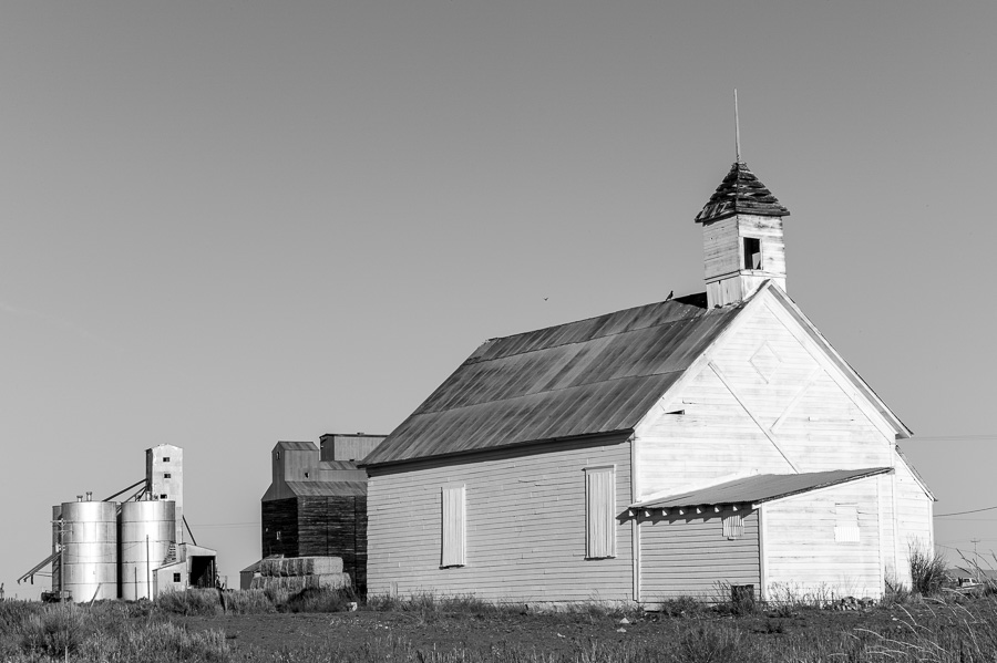 Abandoned Church, Camas Prairie, Idaho : monochrom : TIMOTHY FLOYD PHOTOGRAPHER, NATURE PHOTOGRAPHY, PHOTO ESSAYS, PHOTOJOURNALISM