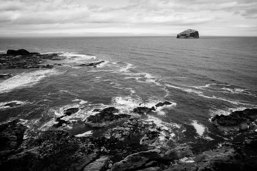 Bass Rock, Scotland : monochrom : TIMOTHY FLOYD PHOTOGRAPHER, NATURE PHOTOGRAPHY, PHOTO ESSAYS, PHOTOJOURNALISM