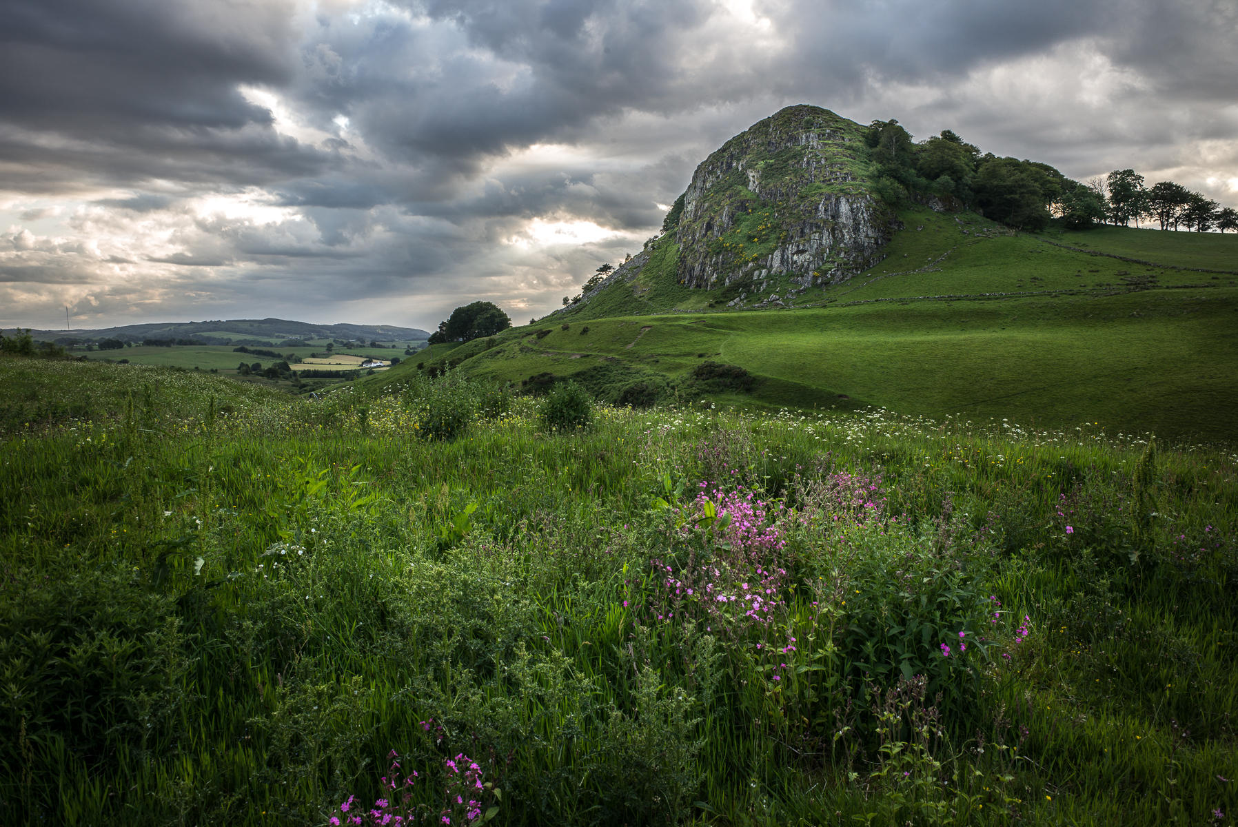 Loudon Hill, Scotland.  
