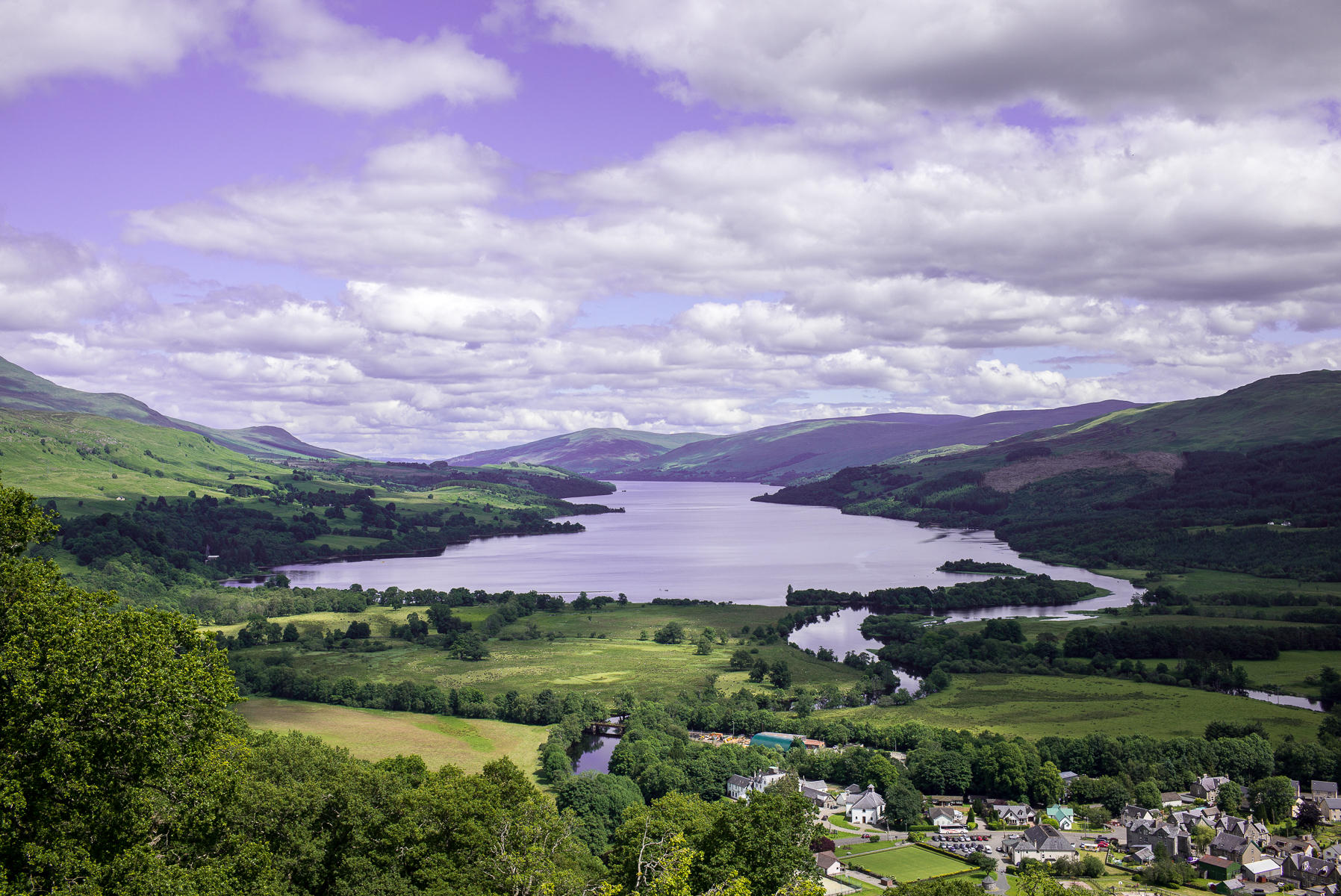 Killin and Loch Tay, Scotland : landscapes : TIMOTHY FLOYD PHOTOGRAPHER, NATURE PHOTOGRAPHY, PHOTO ESSAYS, PHOTOJOURNALISM