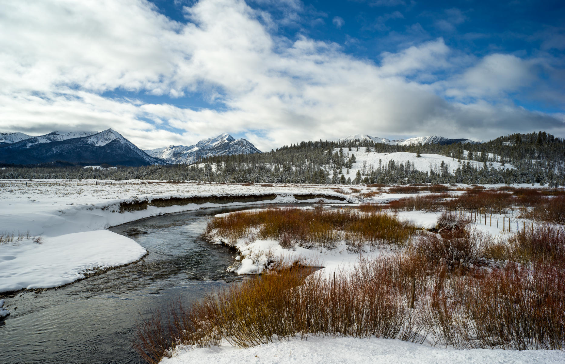 Fisher Creek, Stanley Basin : landscapes : TIMOTHY FLOYD PHOTOGRAPHER, NATURE PHOTOGRAPHY, PHOTO ESSAYS, PHOTOJOURNALISM