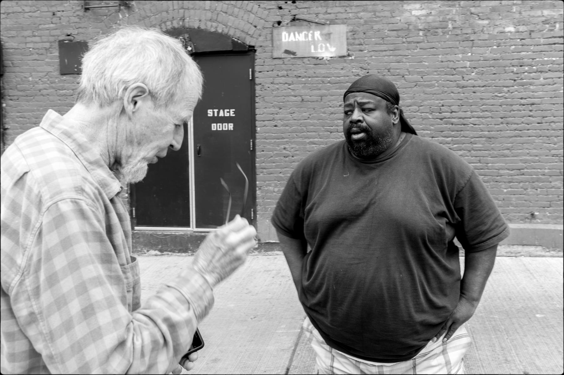 John and Bouncer, Seattle : street & stories : TIMOTHY FLOYD PHOTOGRAPHER, NATURE PHOTOGRAPHY, PHOTO ESSAYS, PHOTOJOURNALISM