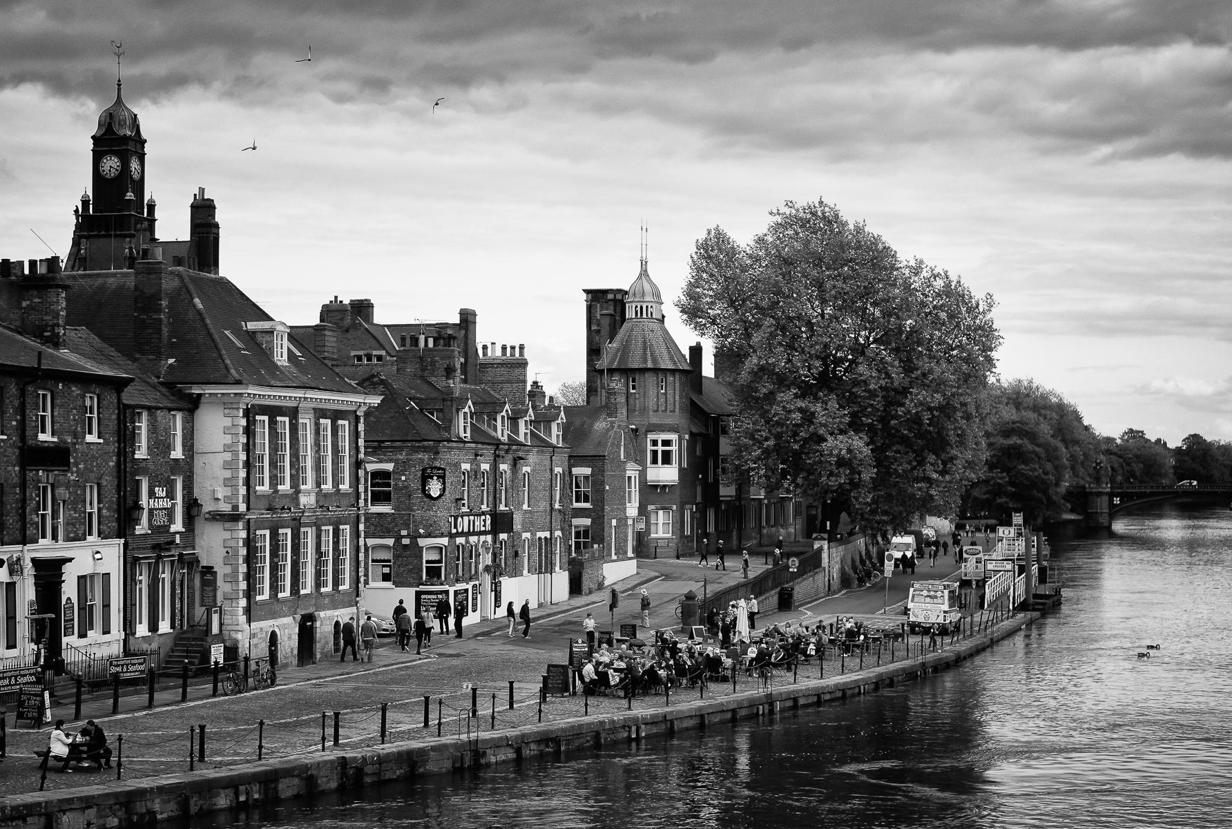 River Ouse from Bridge Street, York : street & stories : TIMOTHY FLOYD PHOTOGRAPHER, NATURE PHOTOGRAPHY, PHOTO ESSAYS, PHOTOJOURNALISM